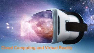 Cloud computing and virtual reality